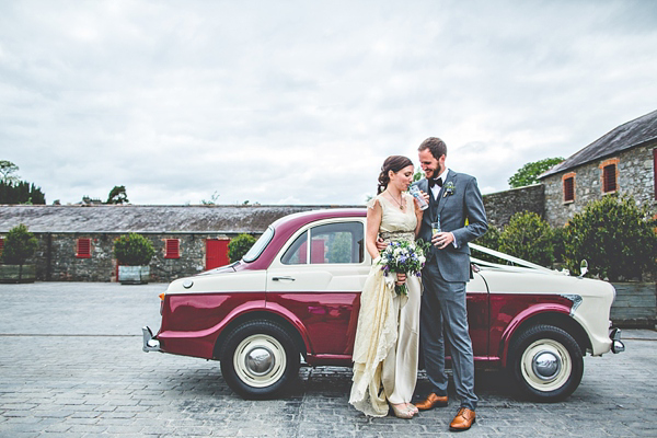 An Antique Lace Wedding Dress For A Beautiful Irish Bride