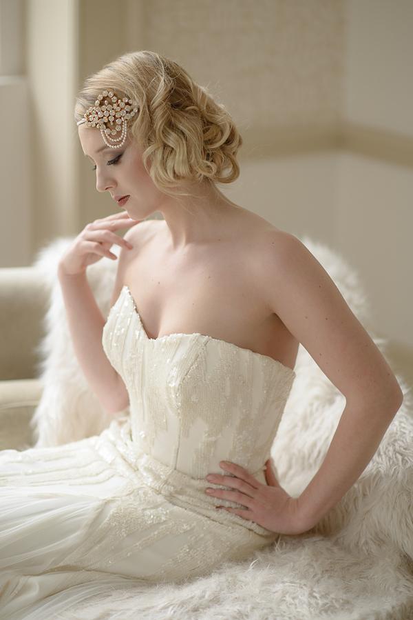 Jo Barnes Vintage ~ Bridal Headdresses Inspired by a Glamorous Bygone Era