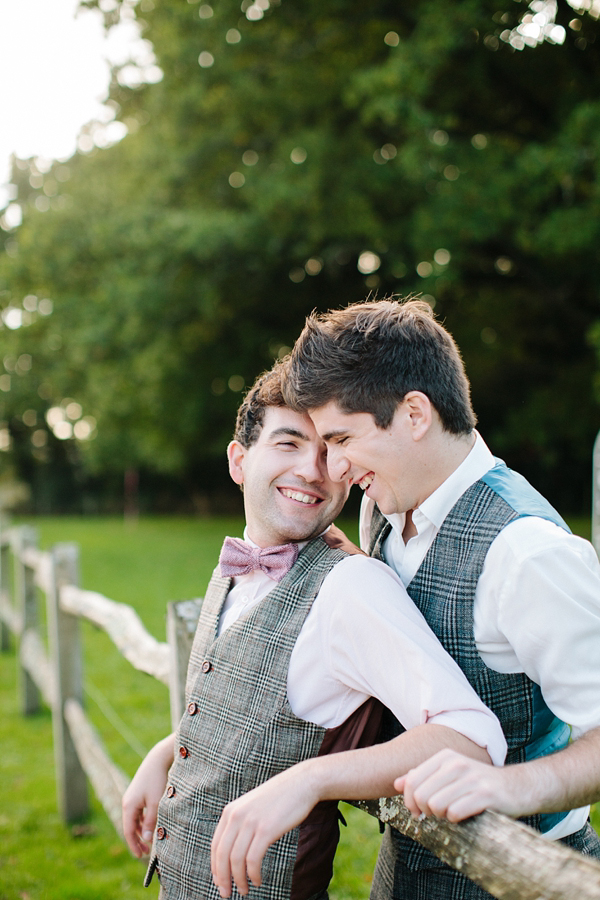Autumn Wedding Inspiration ~  A Romantic Field Picnic, Rustic Barn, Bow Ties and Tweed
