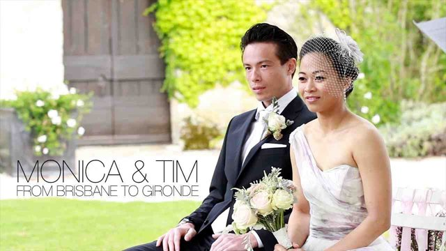 Lunch Time Wedding Film ~ Monica and Tim And Their Beautifully Styled And Romantic French Château  Wedding