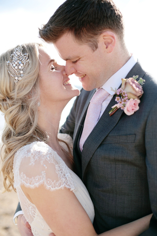 Aspen by Jenny Packham for a 1920s and 1930s Inspired 'Local' Devon Wedding