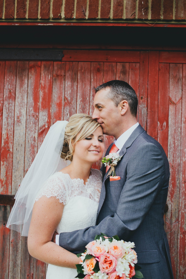 A Coral, Colourful Village Fete Inspired Wedding