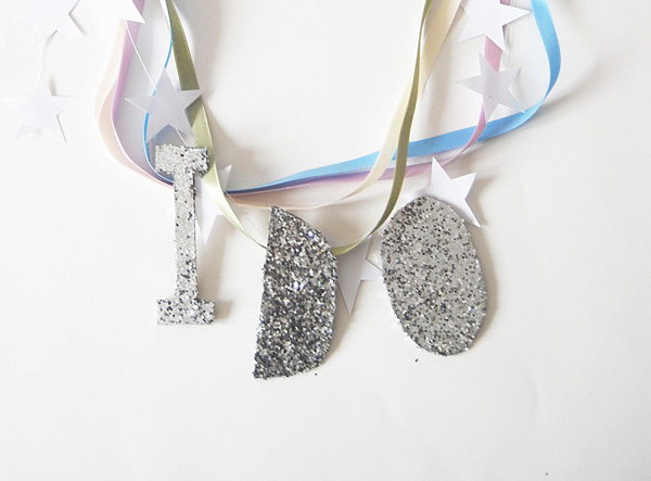 How To Create Your Own Glitter Wedding Chair Decor, by Knot and Pop