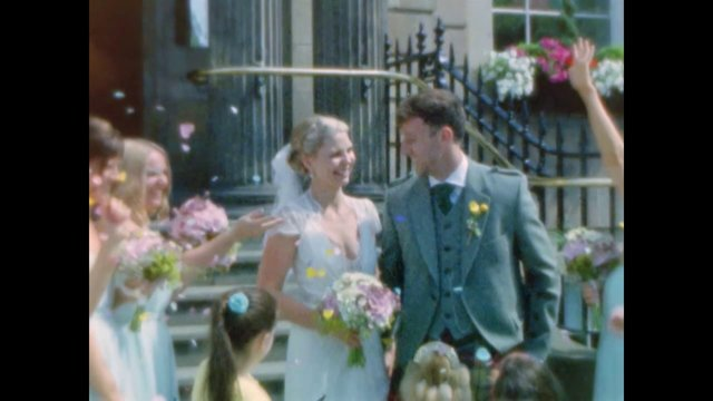 A Film For Friday ~ Gillian and Stuart At Blythswood Square Hotel in Glasgow