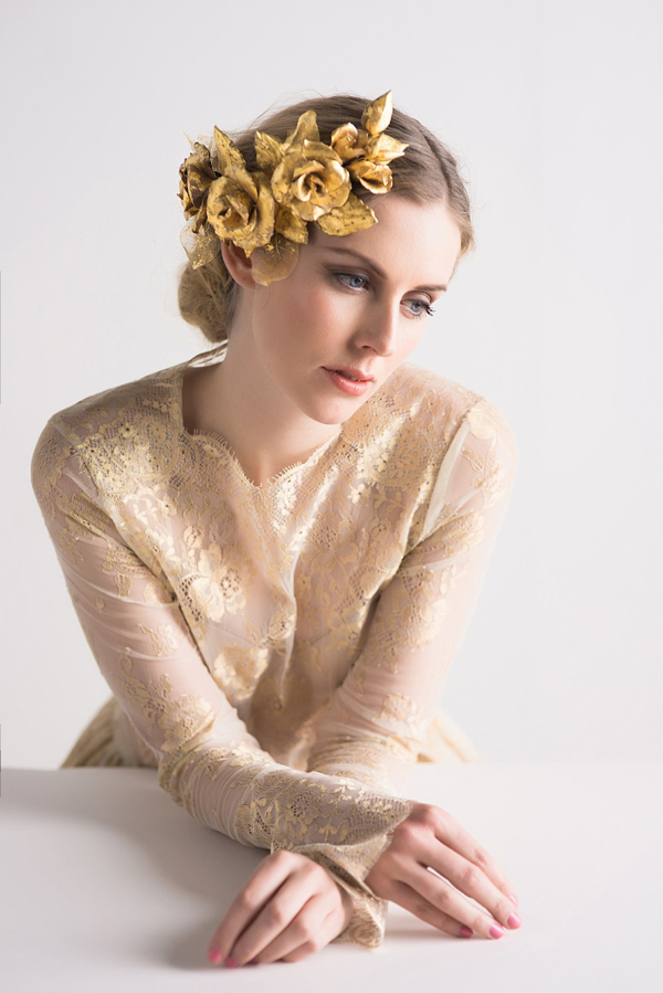 Lila ~ Handcrafted Couture Floral Headpieces and Accessories