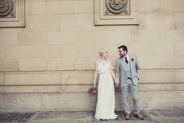 Laurel by Jenny Packham for a Modern, Quirky, Retro Music Inspired Wedding