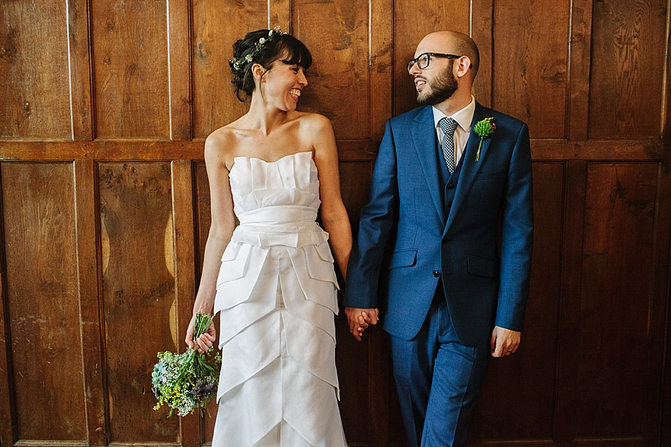 A Temperley Bridal Gown for an Autumnal Fruits and Flowers Inspired Wedding