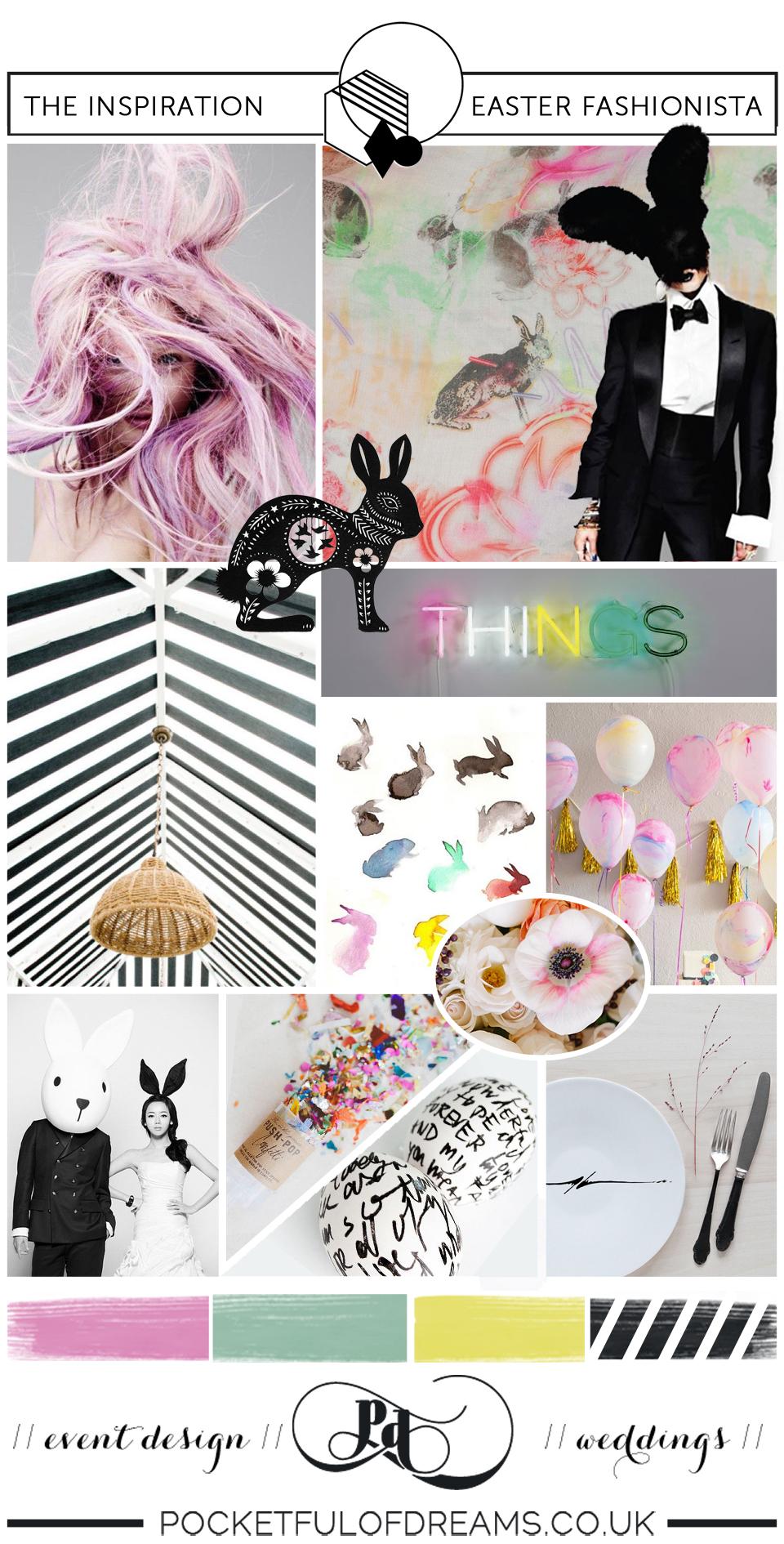 Bridal Inspiration Boards #72 ~ Easter Fashionista