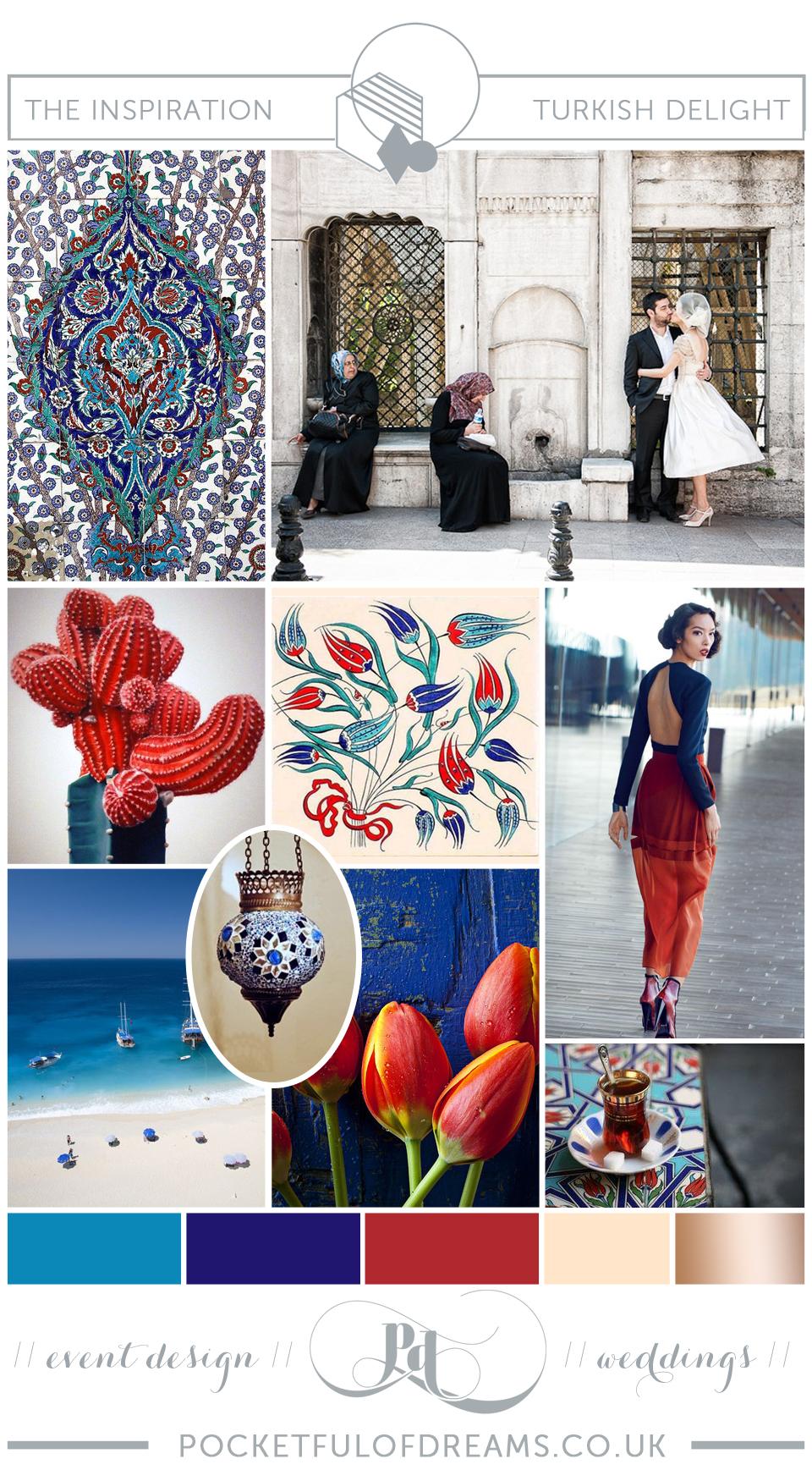 Bridal Inspiration Boards #73 ~ Turkish Delight