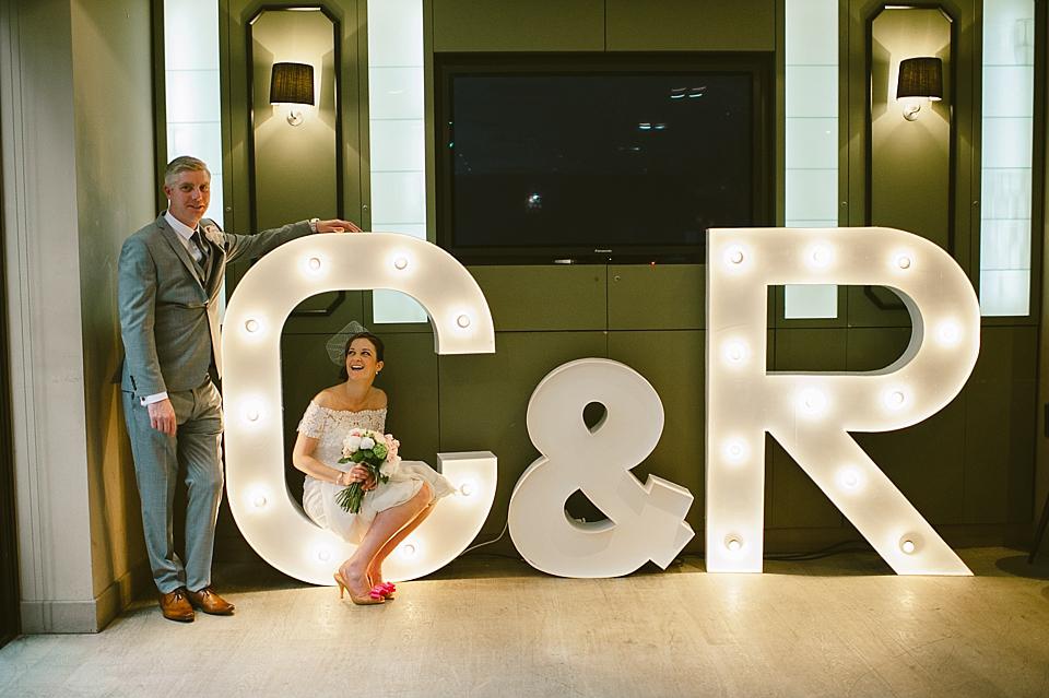Pronovias Lace For An Elegant City Wedding