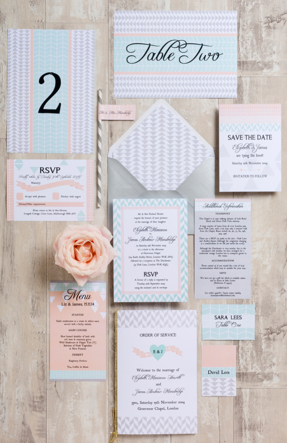 Hip Hip Hooray: Hurrah For Fabulous Wedding Stationery!