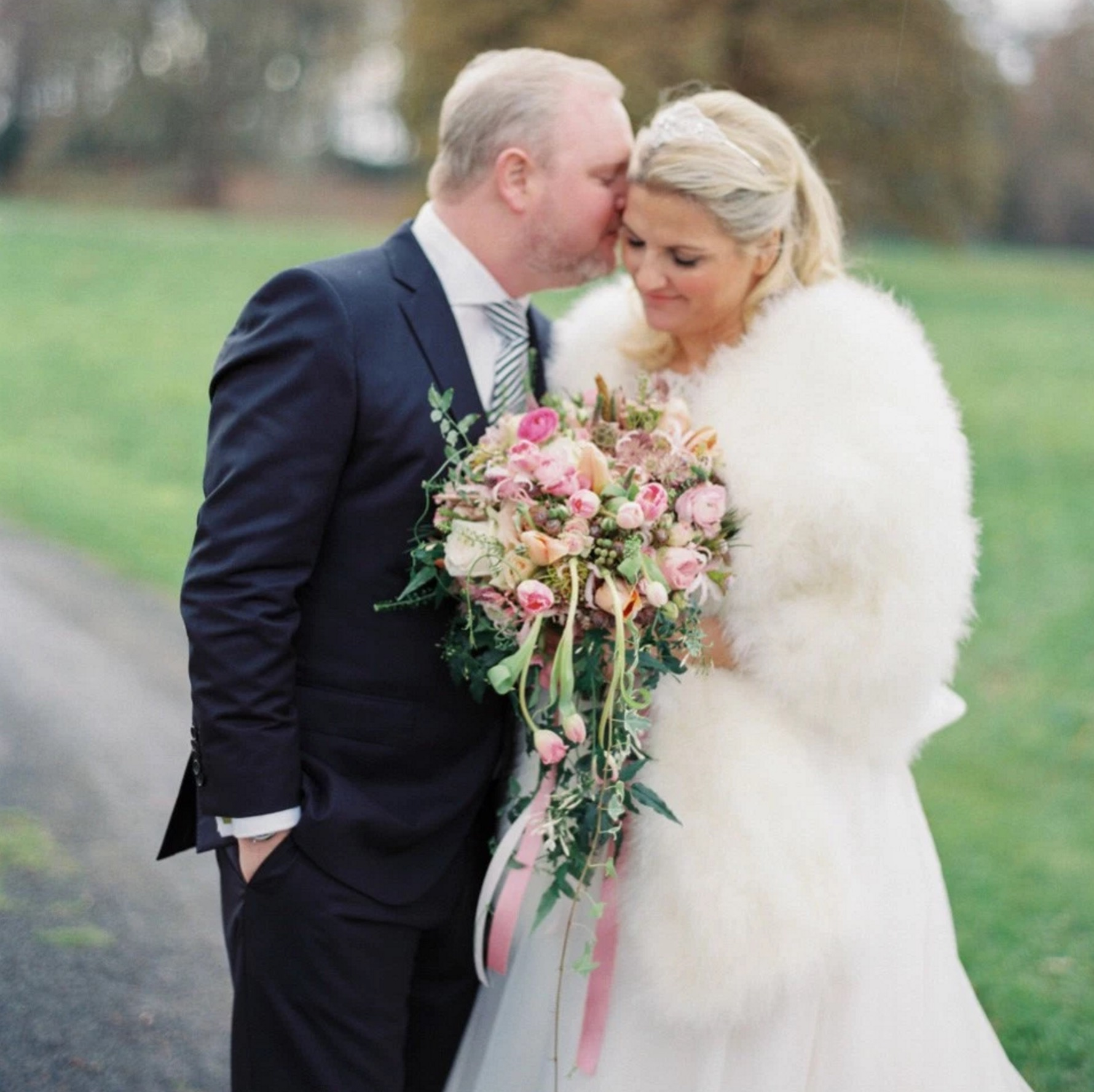 Old School Hollywood Glamour:  The Breathtaking Wedding of Charlotte and Teddy