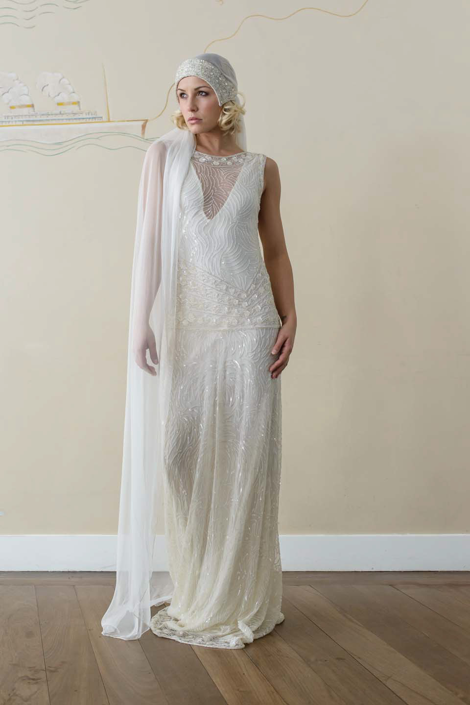 1920s vintage style wedding dresses vicky rowe a debut collection of