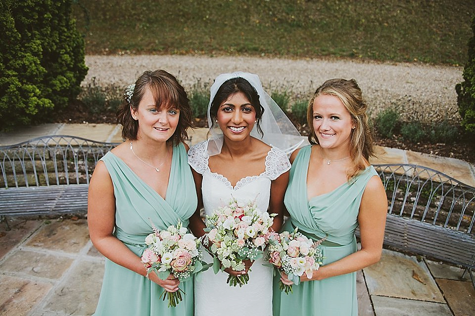 August Jones Elegance for a A Somerset Wedding Organised in Just Two Months