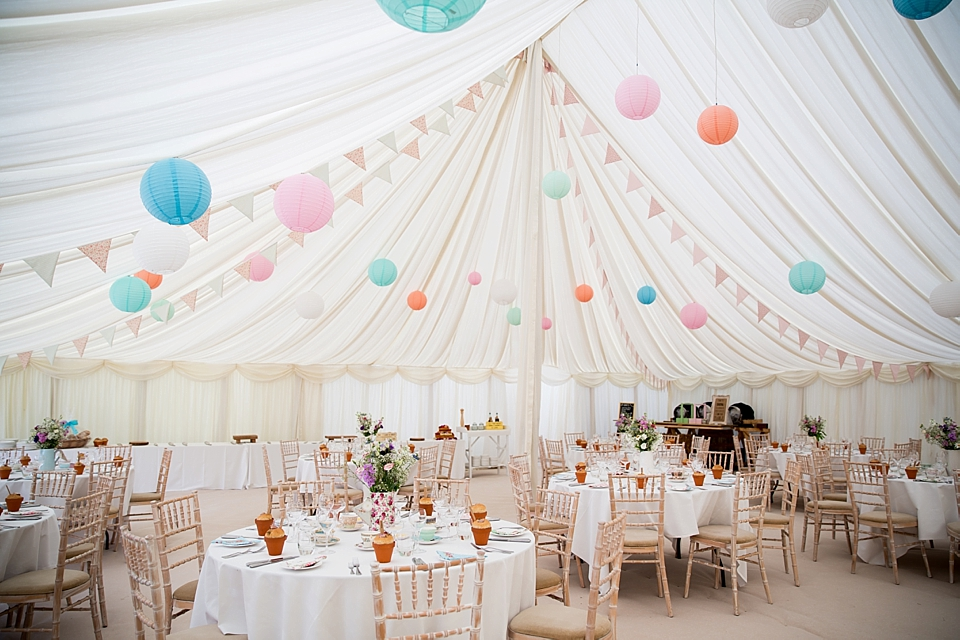 A Delightfully Handmade, Pastel Colour Summer Wedding For Beauty Blogger Milly of 'Pearls & Poodles' (Weddings )