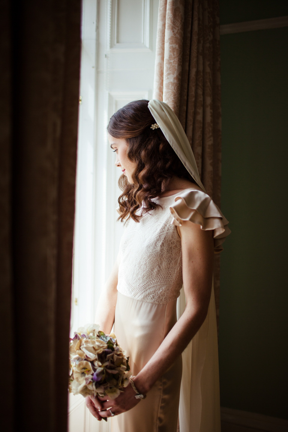 Beautiful Belle & Bunty Silk and Vintage Posies for a Laid Back and Glamorous Glasgow Wedding