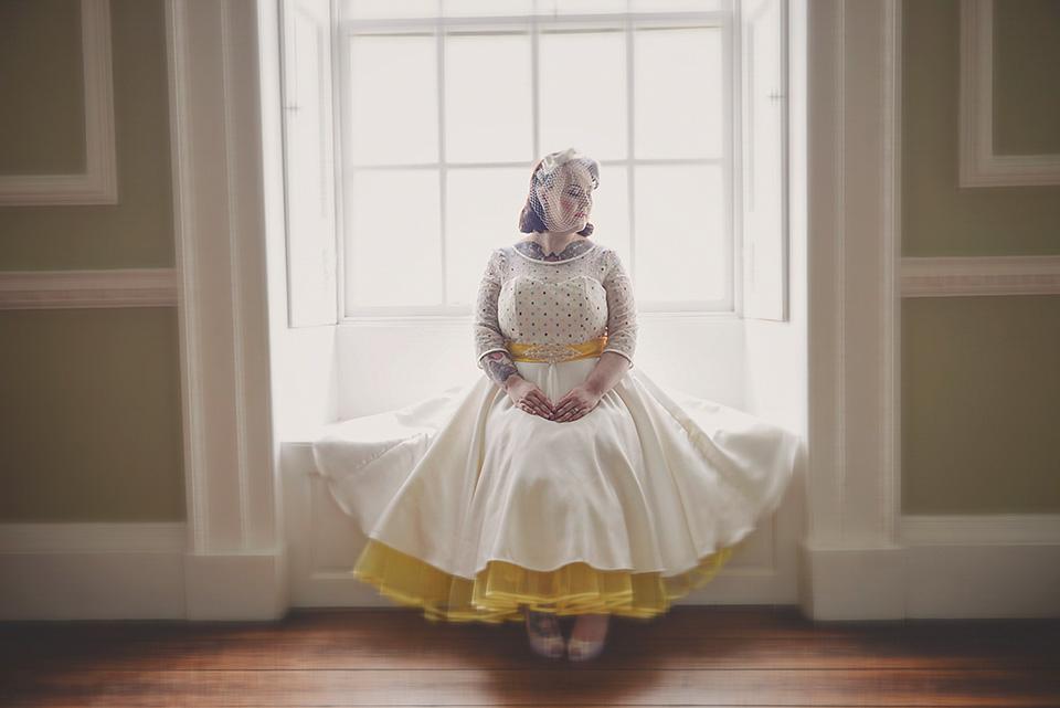 Playful and Colourful Retro 50's Polka Dot Wedding Inspiration