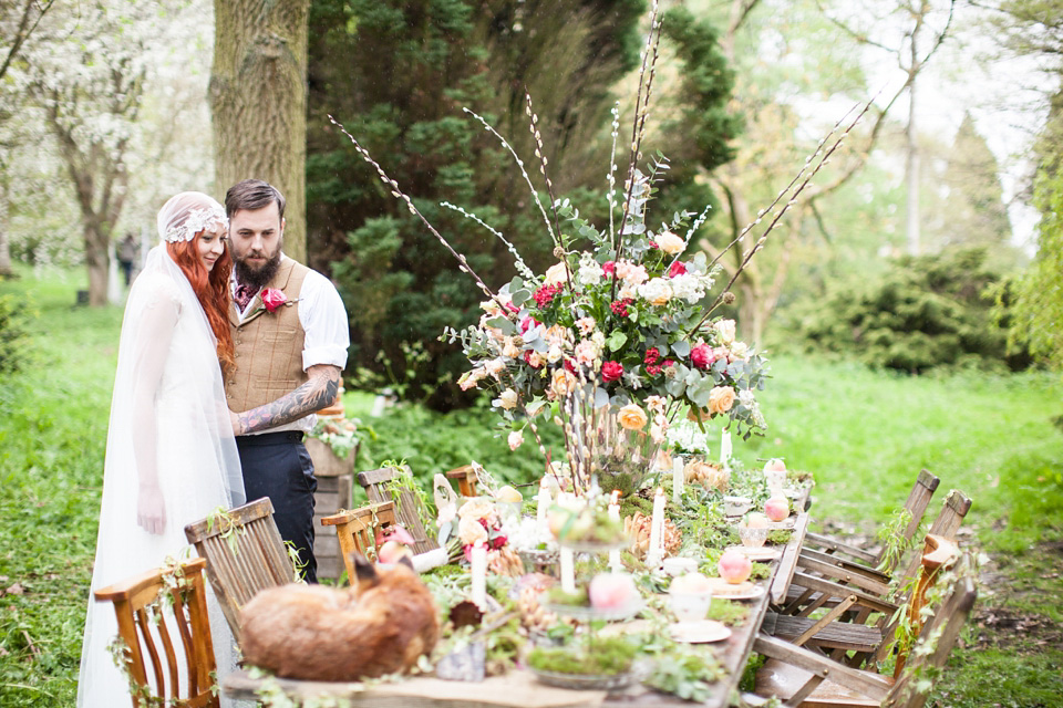 A Secret and Magical Autumn Wedding in the Woods…