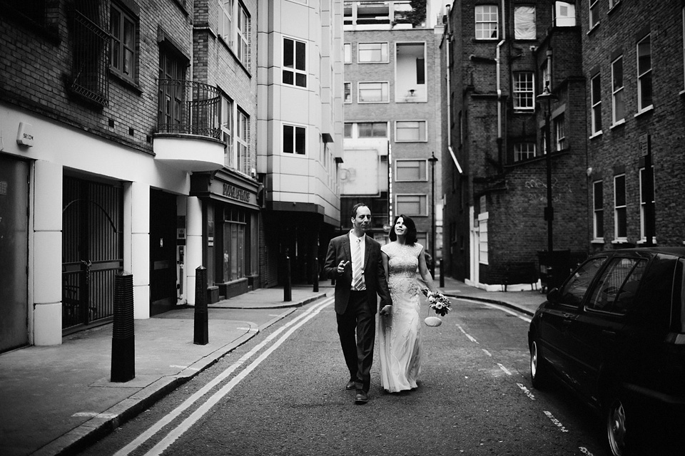 A Karen Millen Dress for a Stylish London Elopement and Intimate Date for Two (Weddings )