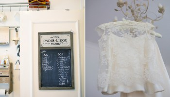 A Two-Piece Halfpenny London Dress for a Private Members Club City Wedding