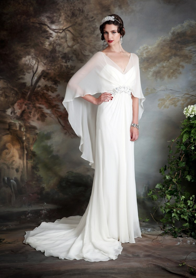 eliza jane howell beaded and embellished art deco On art deco inspired wedding dress