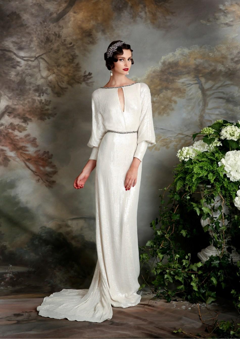 Eliza Jane Howell Elegant Art Deco Inspired Wedding Dresses Love My Dress