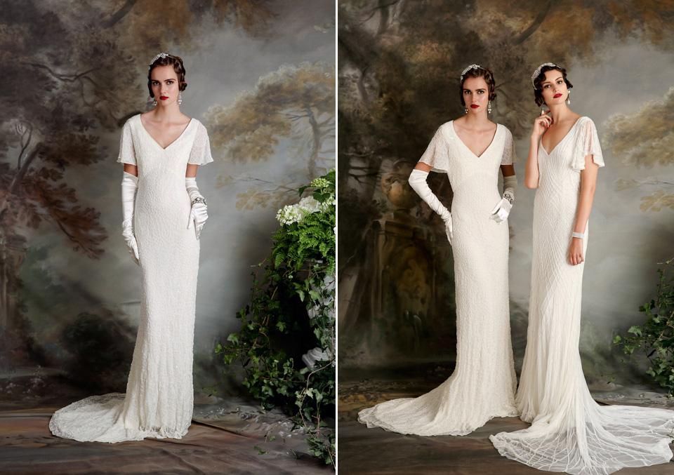 Eliza Jane Howell - Elegant Art Deco Inspired Wedding Dresses (Bridal Fashion Fashion & Beauty )