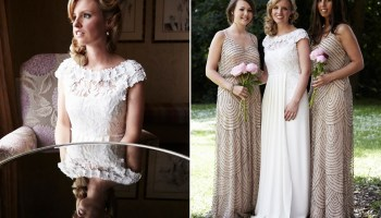 A 1920′s Vintage Glamour Inspired Wedding