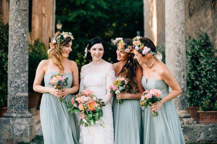 A Temperley Dress for a Rustic Style, Midsummer Wedding in Tuscany