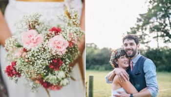 A Delightfully Floral, Homegrown and Handcrafted Summer Barn Wedding