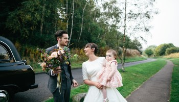 A Sweet and Simple Child Friendly Wedding by the Castle in Edinburgh