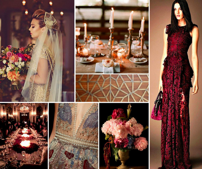 Bridal Inspiration Boards #78 ~ Golden Age of Glamour Wedding Ideas