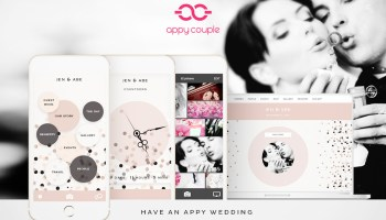 Appy Couple – Pretty, Practical Wedding Website And App Creation + An Exclusive Saving