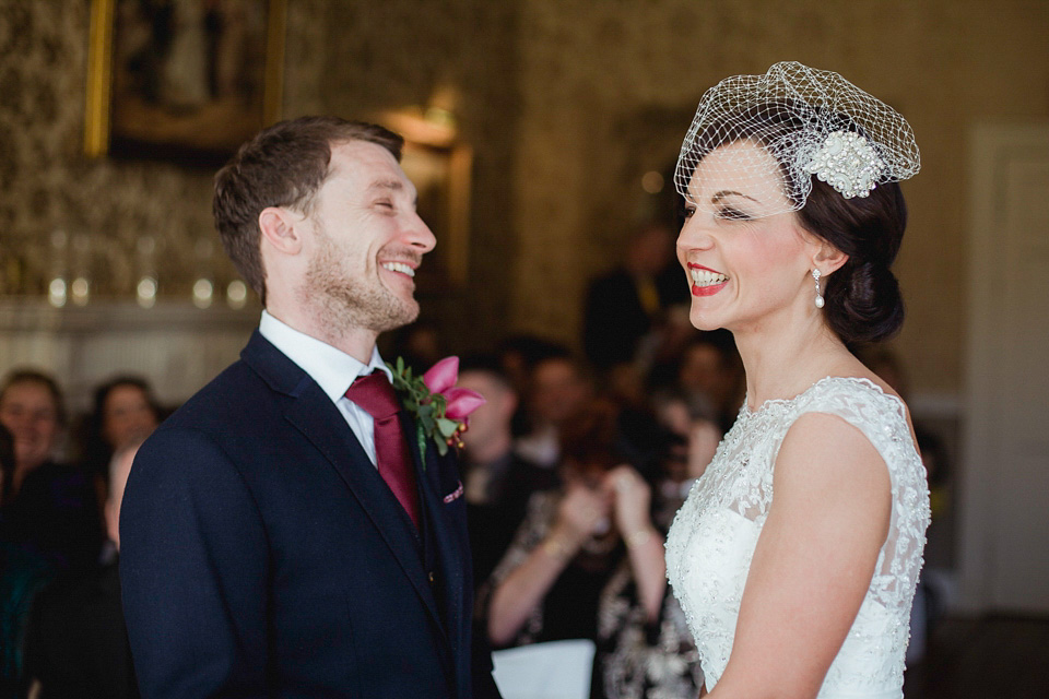 A 1940's Inspired Elegant Autumn Wedding in the Cotswolds