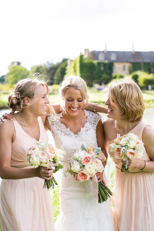 Mid-Day Movie – A Pretty Peach Garden Party Wedding in Norfolk