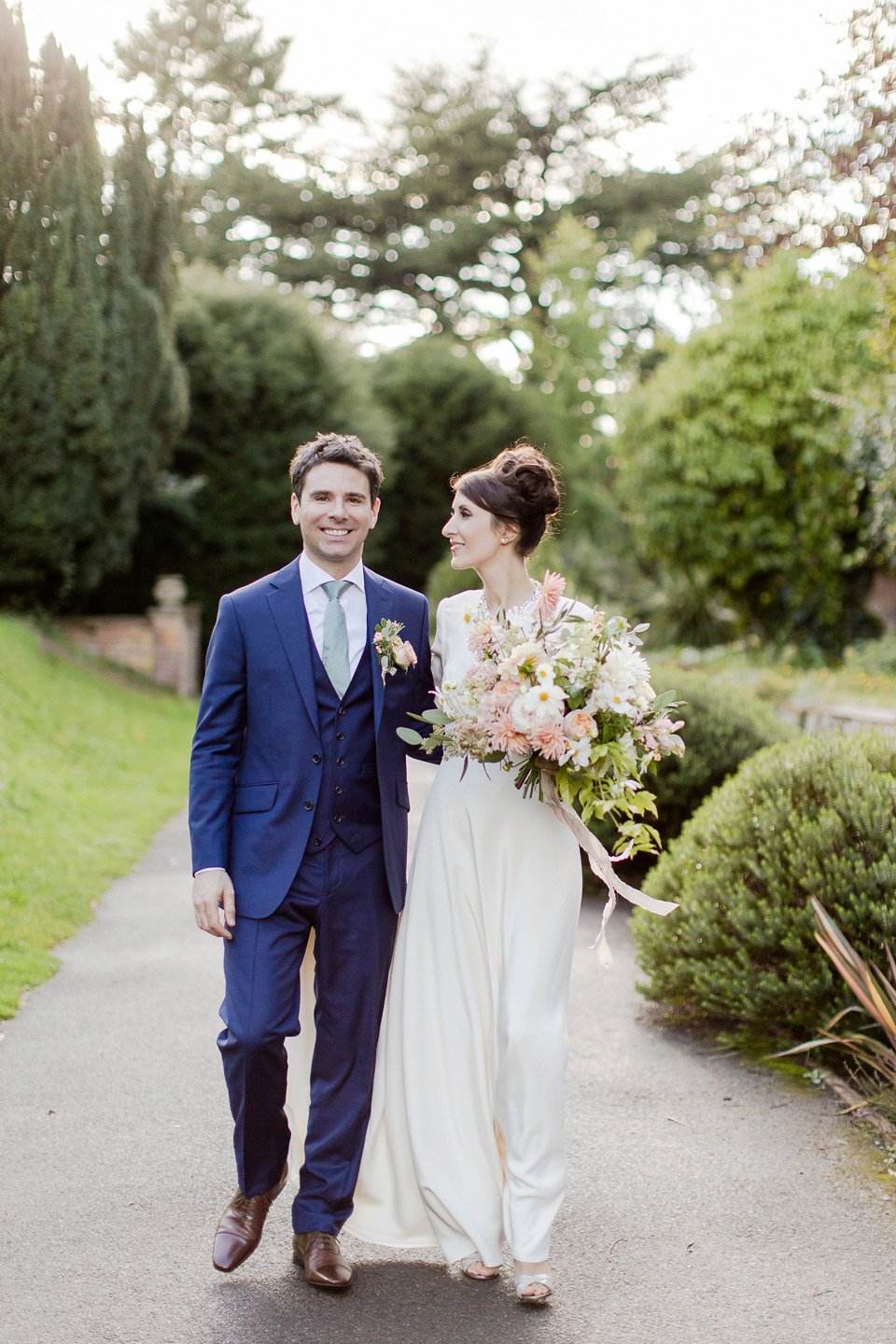Jesus Peiro and Jenny Packham for an Ethereal and Elegant Autumn Wedding