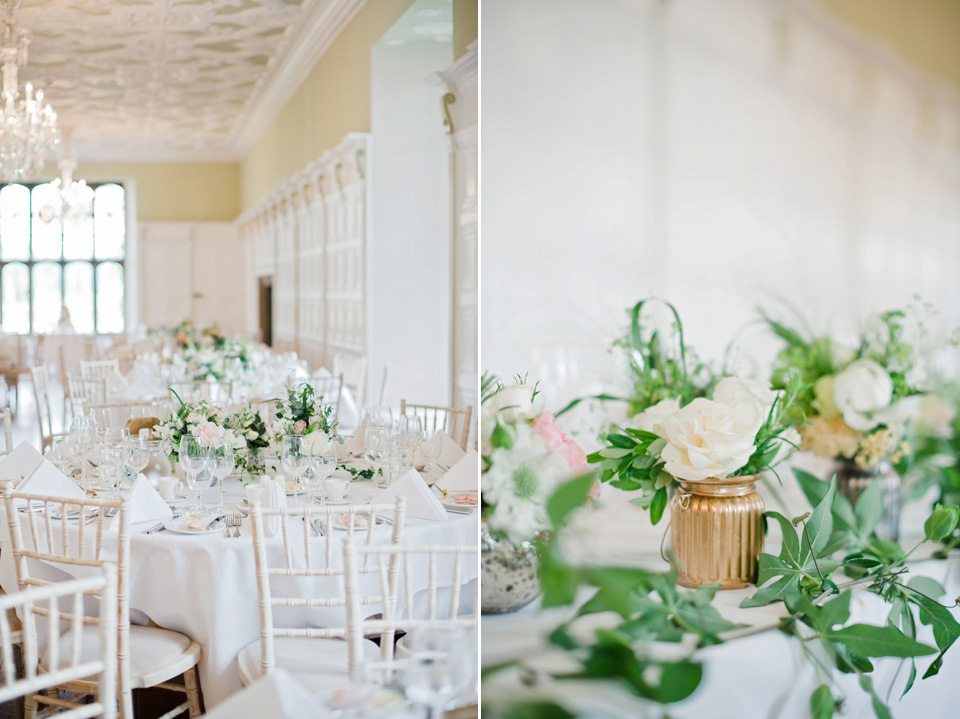 An English Rose and her Pink, Gold and Pastel Colour, Country House Wedding (Films Weddings )