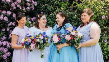 A Colourful, Quirky, 50′s Retro and Cinematic Inspired Wedding