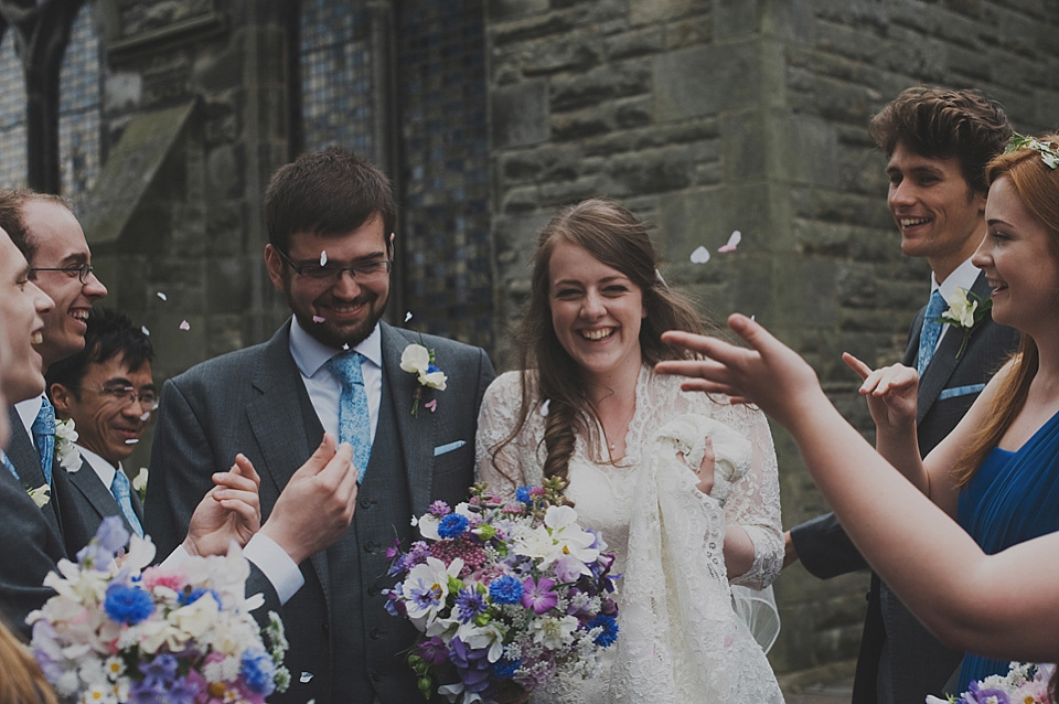 A Traditional, Hand-made Afternoon Tea Party Wedding in Scotland