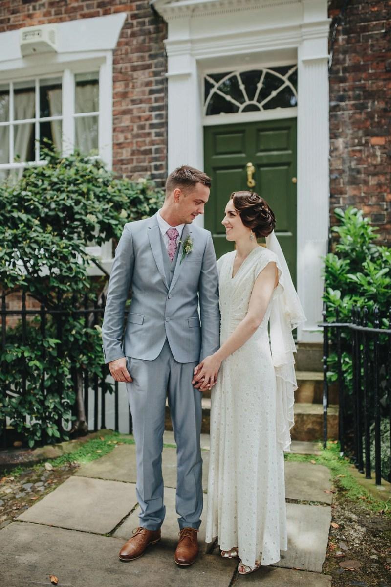 Vintage Wedding Dress Manchester : Marcel waves and a s vintage wedding dress love my