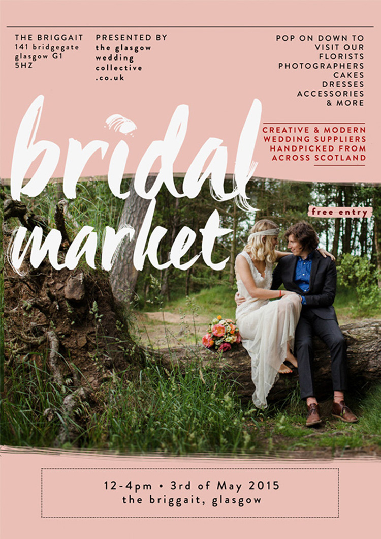 The Glasgow Wedding Collective Spring/Summer Bridal Market, 3rd May
