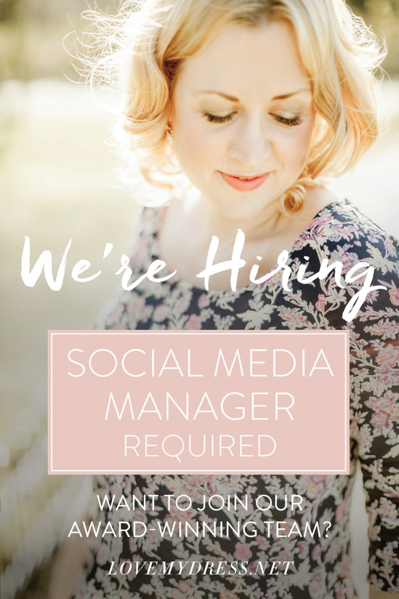 We Are Hiring: Social Media Manager Required
