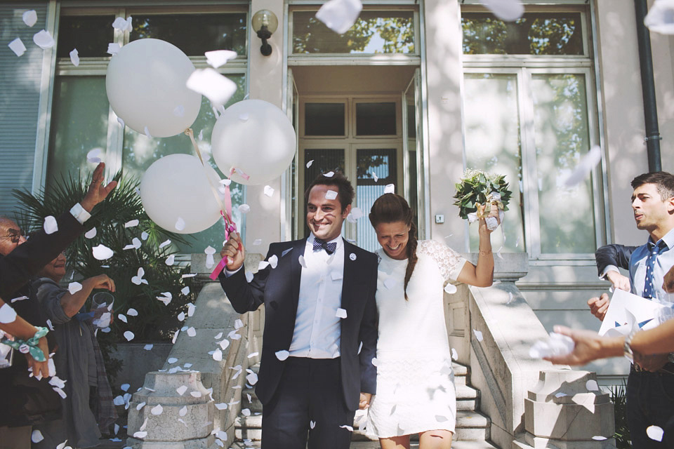Vanessa Bruno and Delphine Manivet for a Relaxed Black Tie Wedding Weekend in France