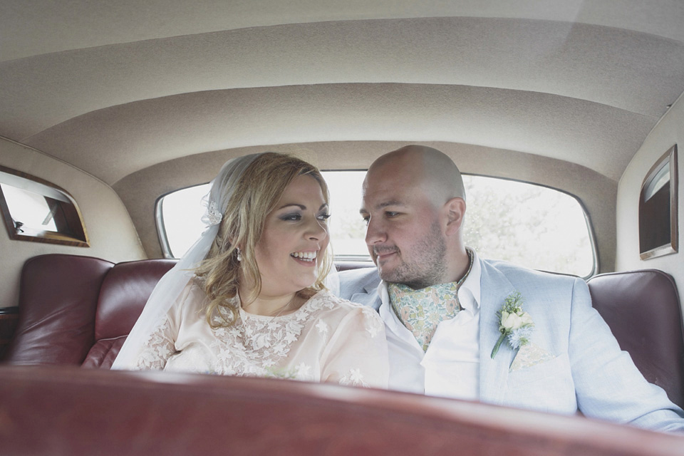 Charlotte Olympia Shoes, A Juliet Cap Veil and Liberty Print Inspired Wedding