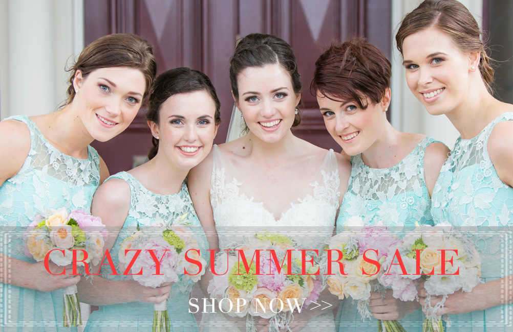 Bridesmaids Dresses Summer Sale with 'For Her And For Him'