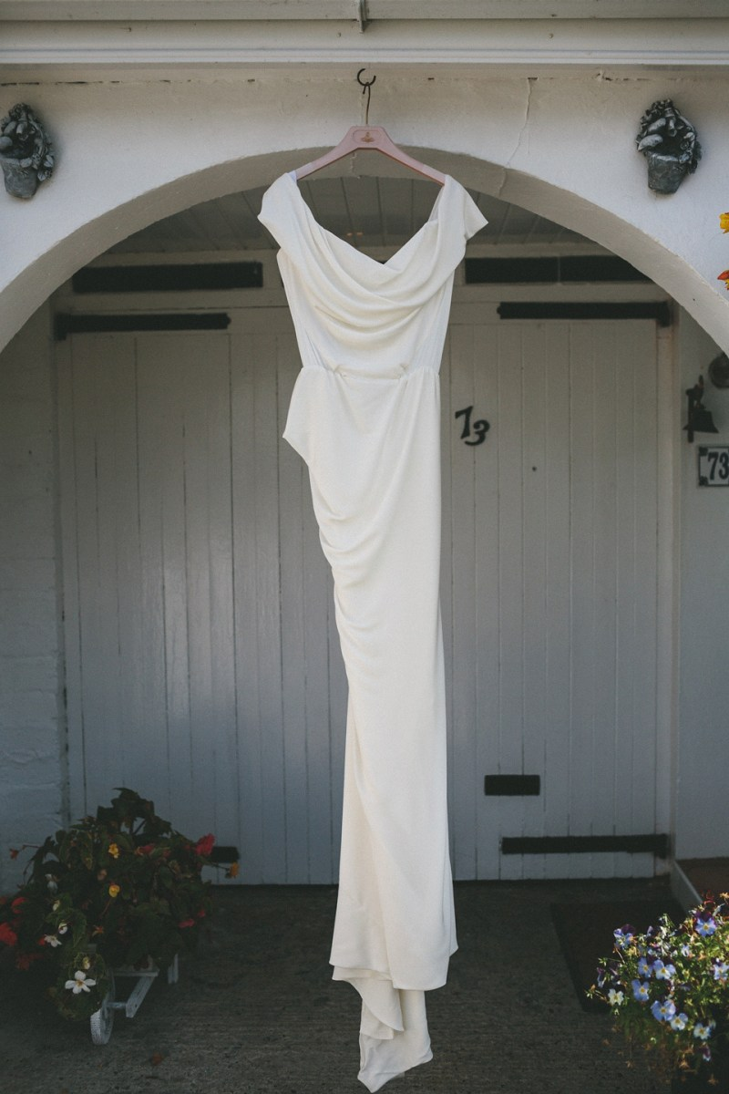 A vivienne westwood wedding dress for a natural inspired for Nature themed wedding dress
