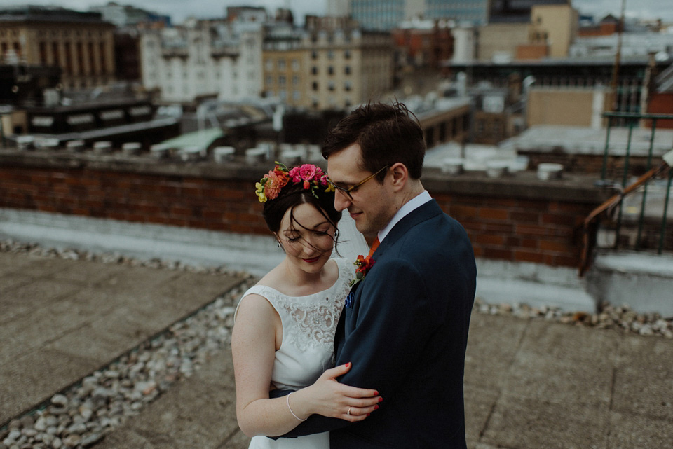 A Colourful and Quirky Tinder Wedding