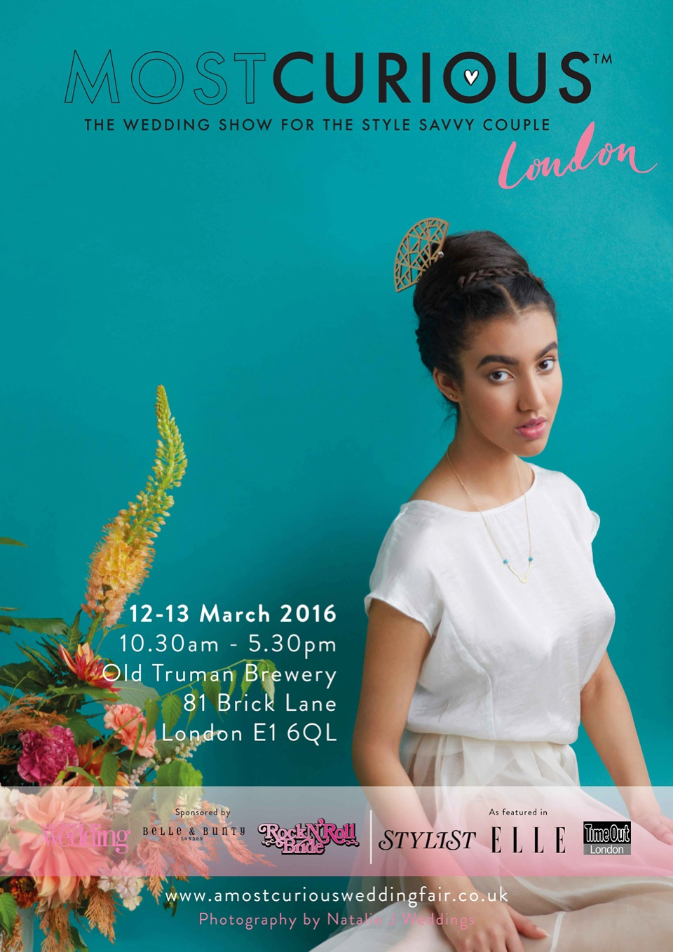Most Curious – A Wedding Show For The Style Savvy Couple, 12-13 March 2016, London