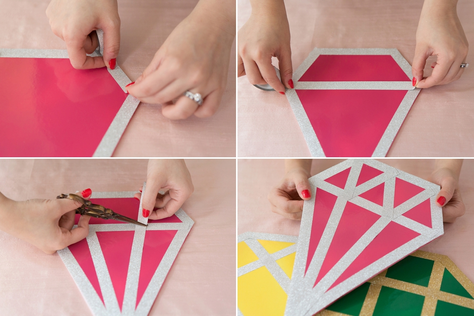How To Make Giant Gem Photo Props (For Your Engagement Party/Bridal Shower) (DIY Projects )