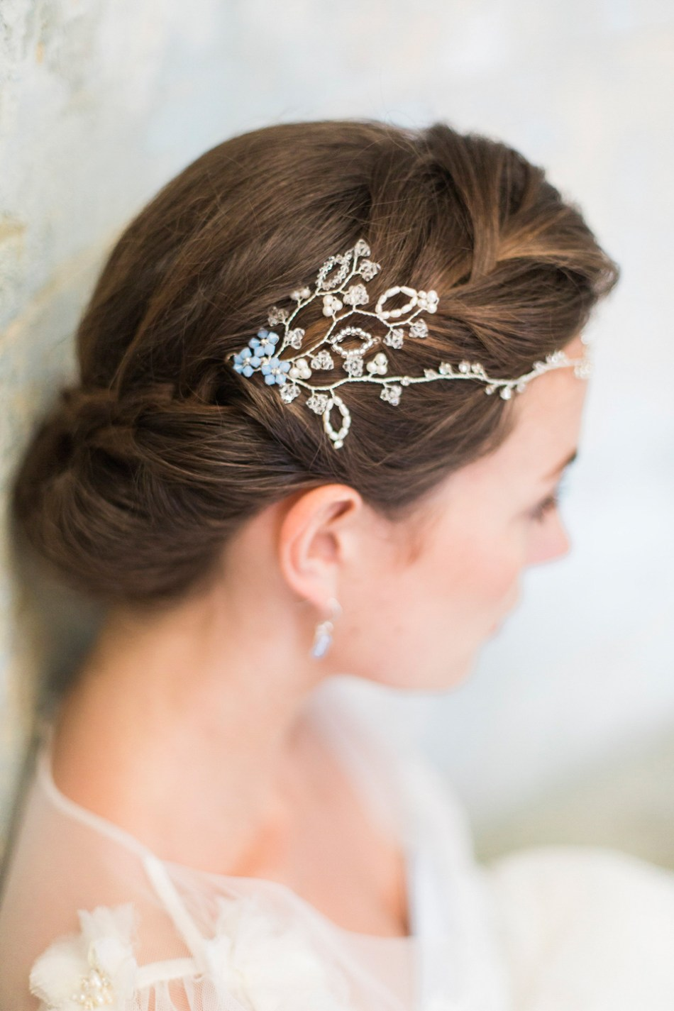 Hermione Harbut Dreamy Ethereal And Delicate Headpieces